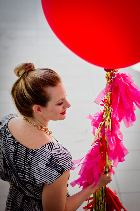 Lovely Wedding Magazine blog: Float Balloons