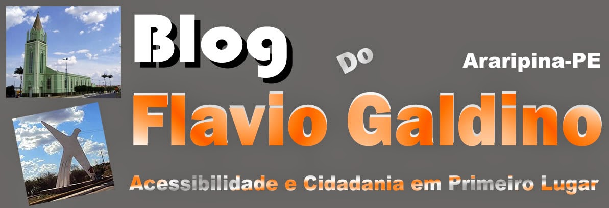 Blog do Flavio Galdino