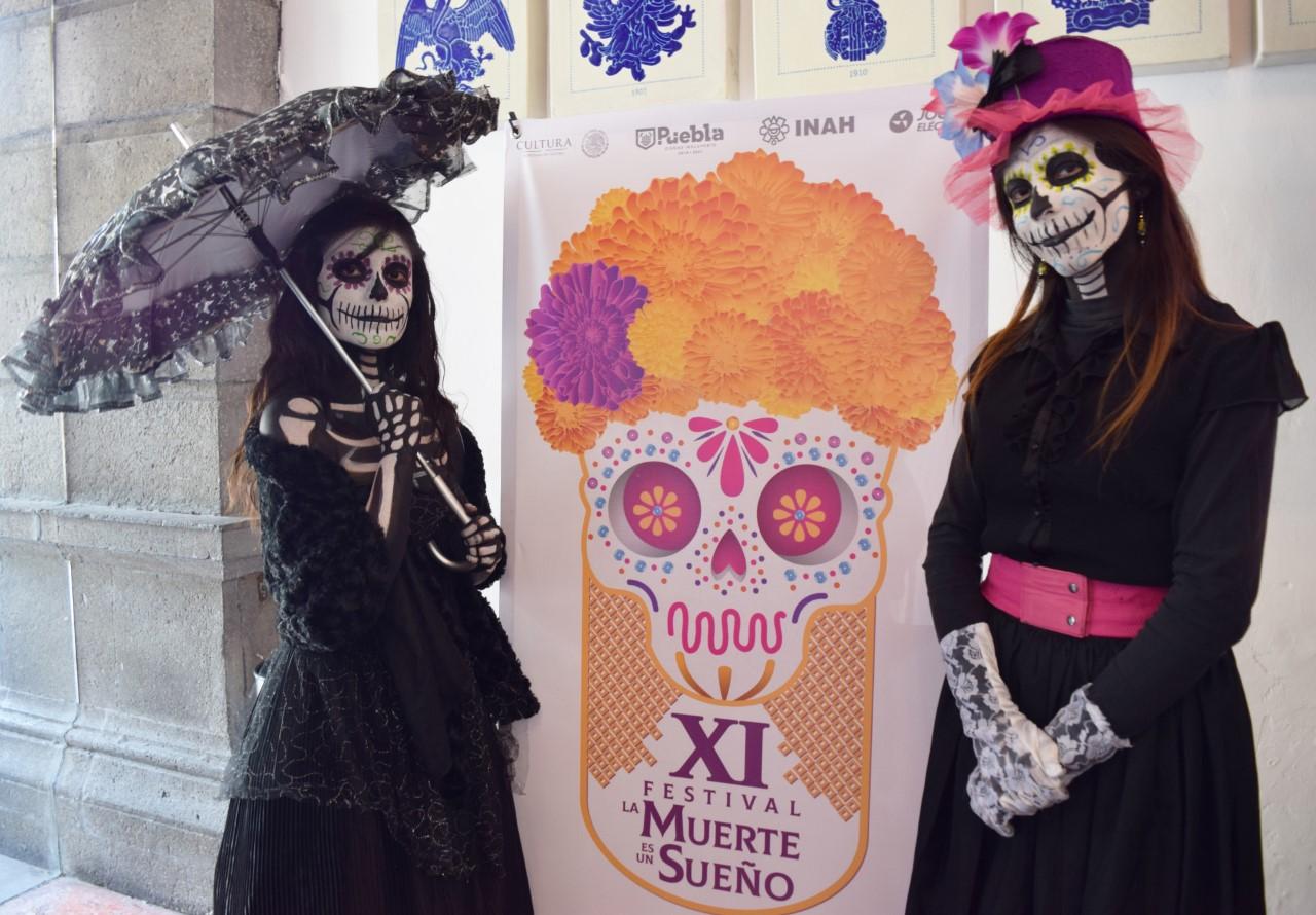 CELEBRA PUEBLA FESTIVAL DE MUERTOS, DEL 30 DE OCTUBRE AL 3 DE NOVIEMBRE