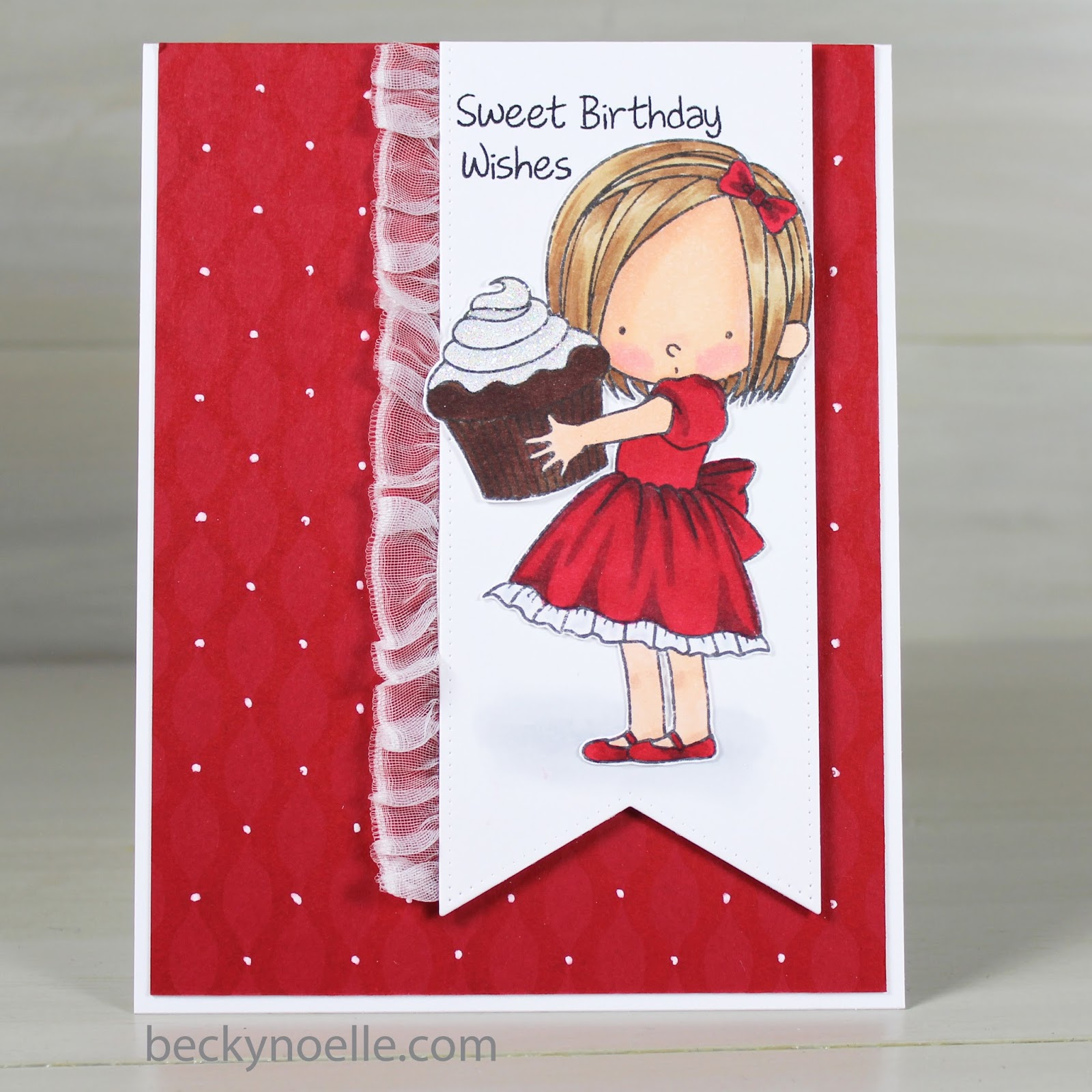 Sweet birthday wishes life outside the lines by beckynoelle i have a sweet birthday card to share today bookmarktalkfo Choice Image