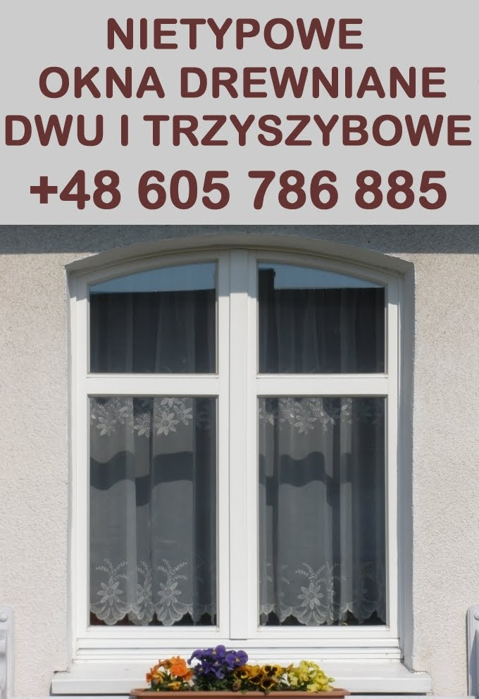 Nietypowe okna drewniane