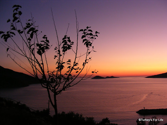 Autumn Sunset In Kalkan