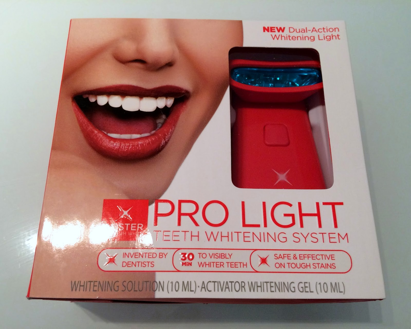 luster pro light hollywood smile made in chelsea white teeth teeth. Black Bedroom Furniture Sets. Home Design Ideas