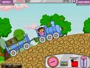 Dora lái tàu, game dua xe