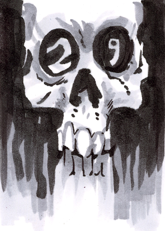 Tales from the Three Eyed Skull: Art and junk by Andrew Barr ...