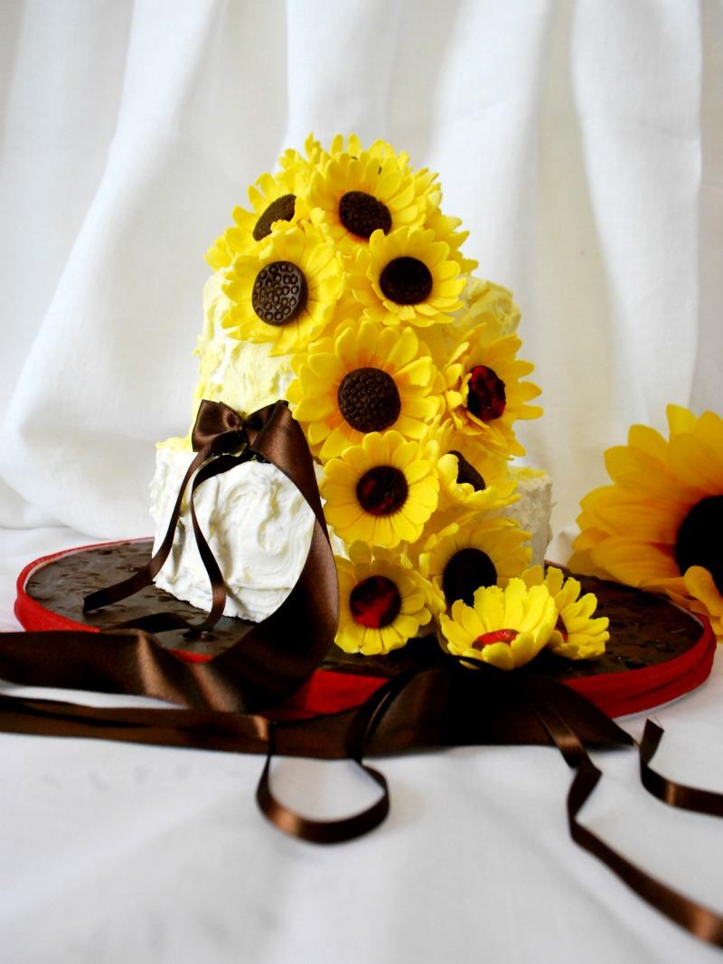 Torte Matrimonio Girasoli : Ci pensa cristina torta con girasoli