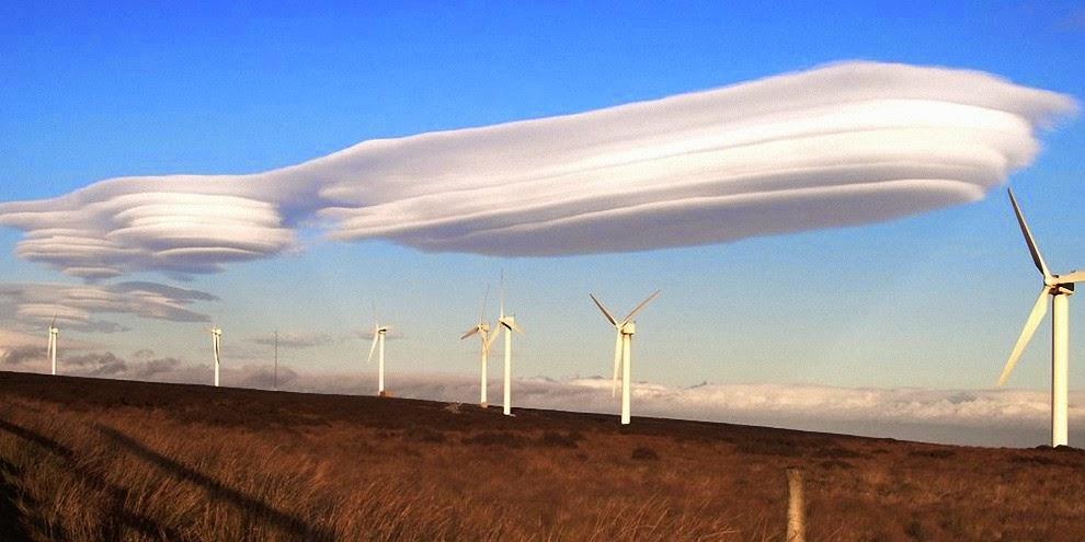 Фотографии чудных облаков