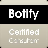 Je suis certifiée Botify