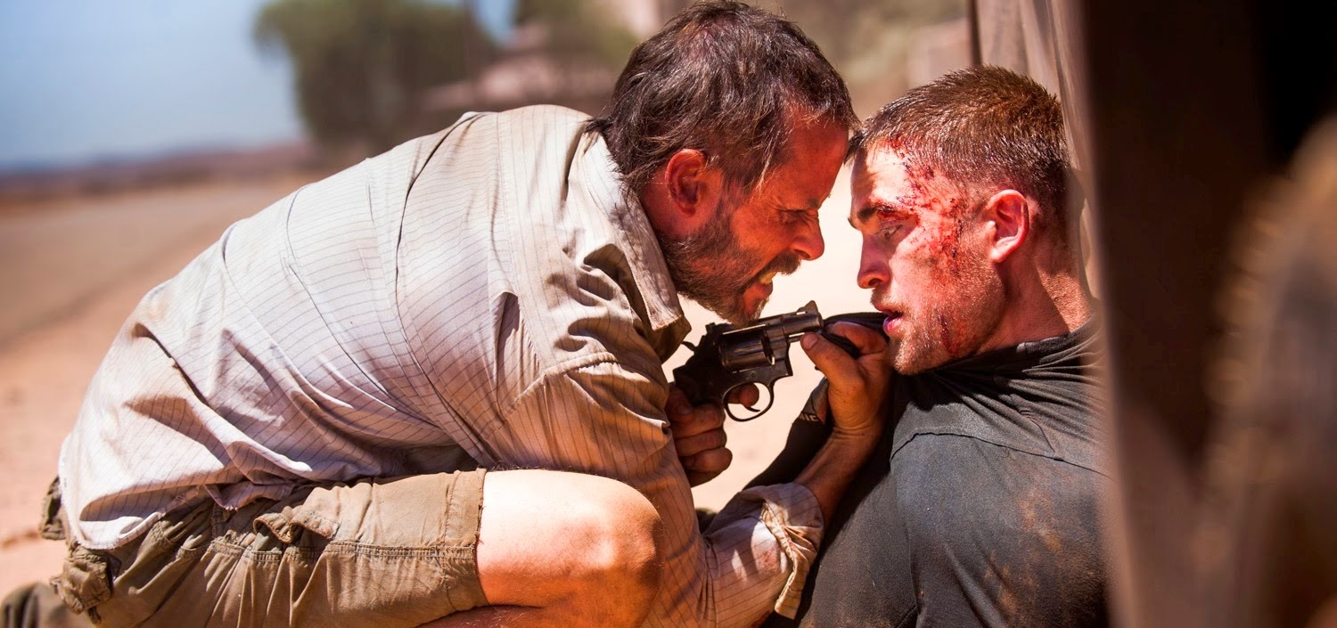 Guy Pearce e Robert Pattinson no segundo trailer de THE ROVER, de David Michôd