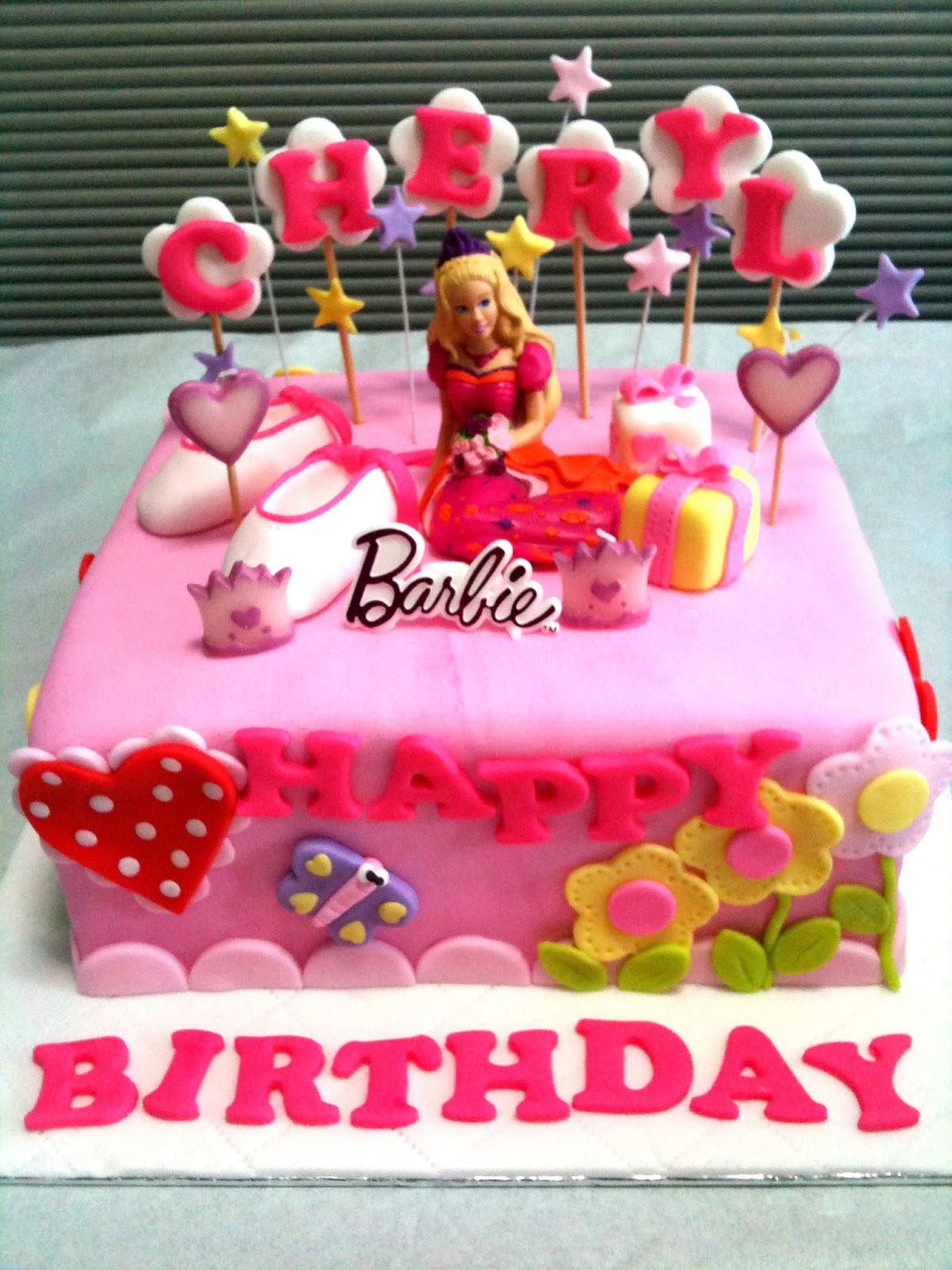 Oven Creations Happy 4th Birthday Cheryl