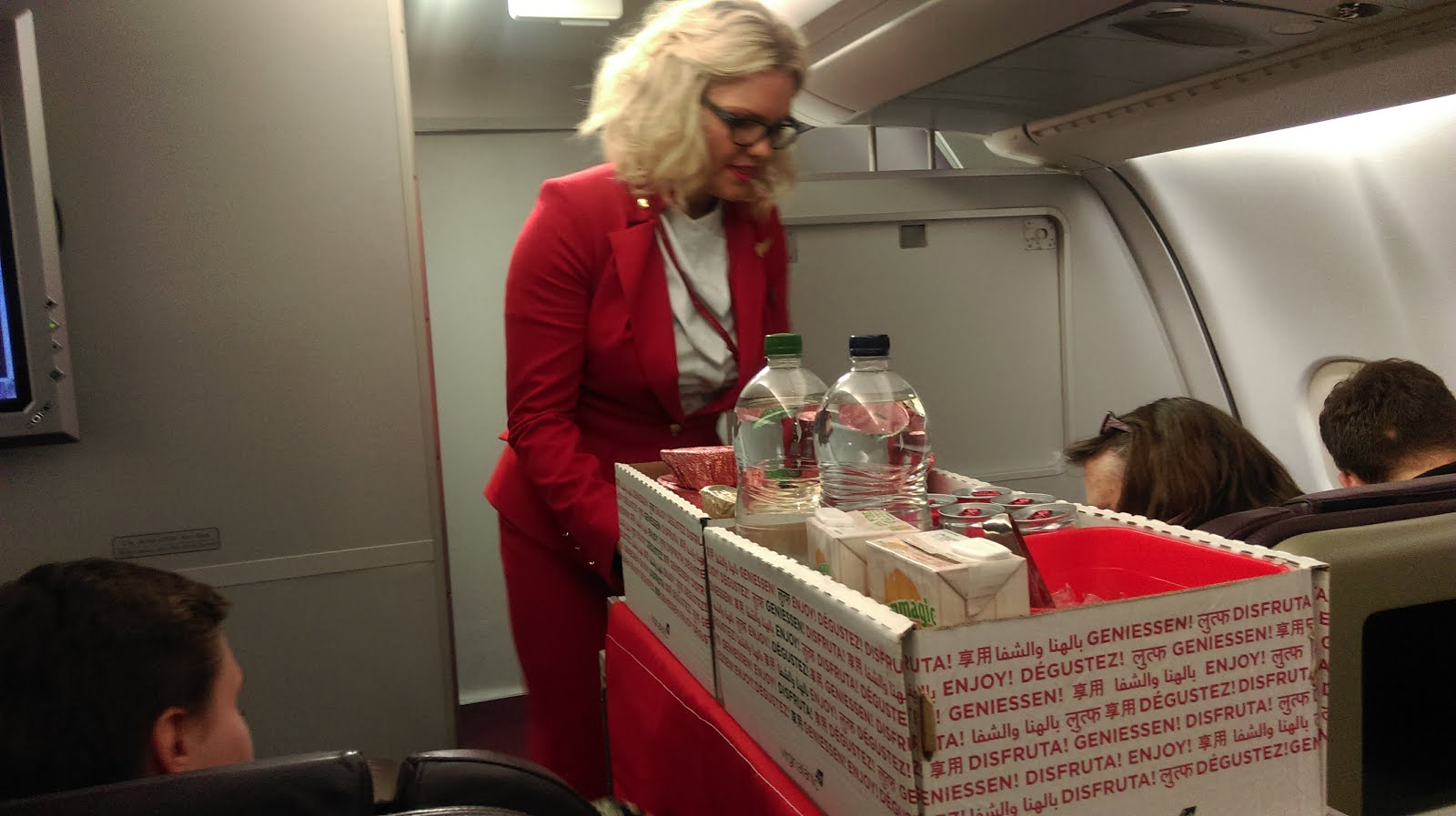 Behind the scenes at virginatlantic delta traveltuesday on this amazing trip to virgin atlantics hq based behind heathrow airport the impeccably dressed air hostess met us and took us through to a meet and kristyandbryce Image collections