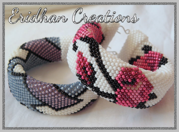 Eridhan Creations - Beading Tutorials: Beaded crochet bracelets