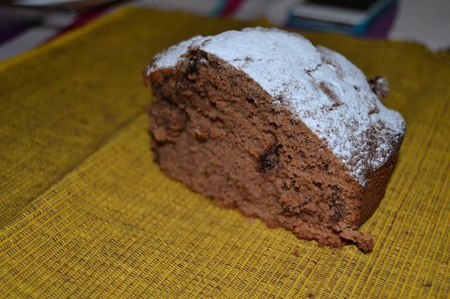 torta al cioccolato fondente con gocce ♡