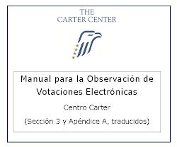 Manual para la observación de votaciones electronicas
