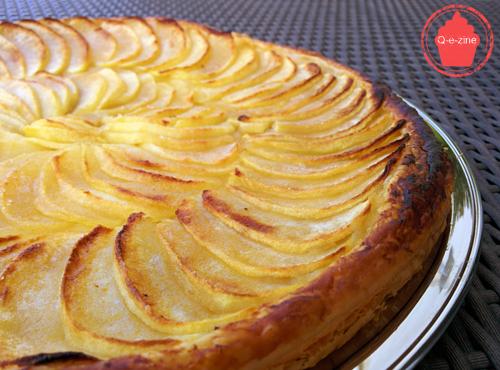tarte fine pommes gourmande croustillante