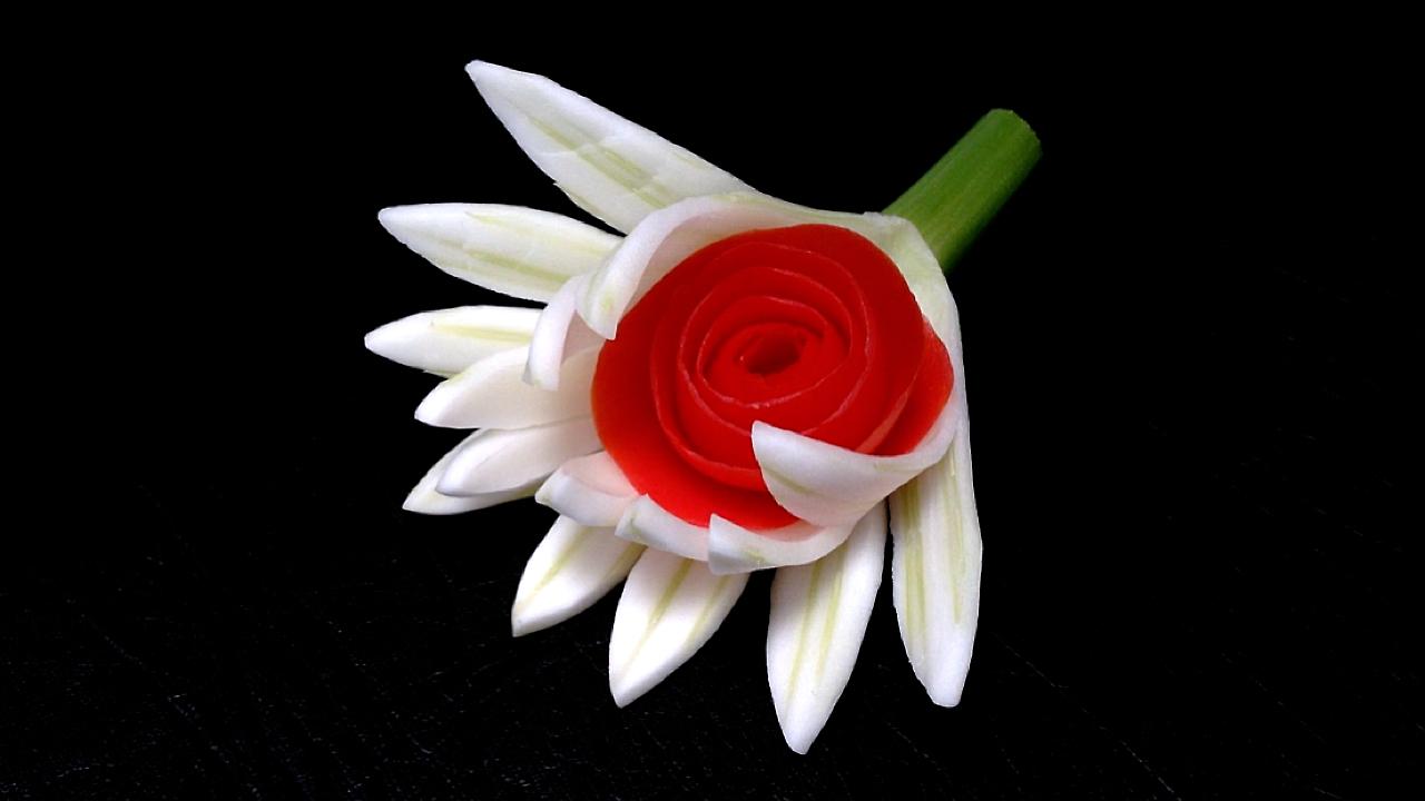 Best fruit or veggie vegetable veg carving ideas videos