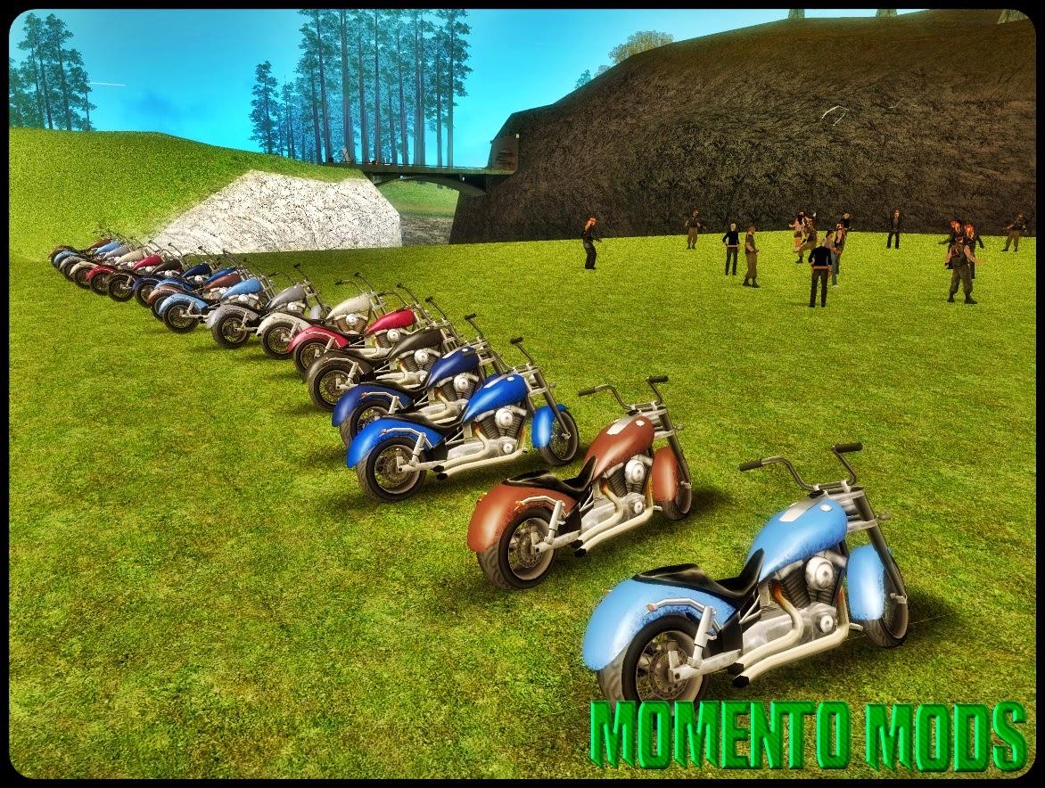 GTA SA - Festa De Motociclistas