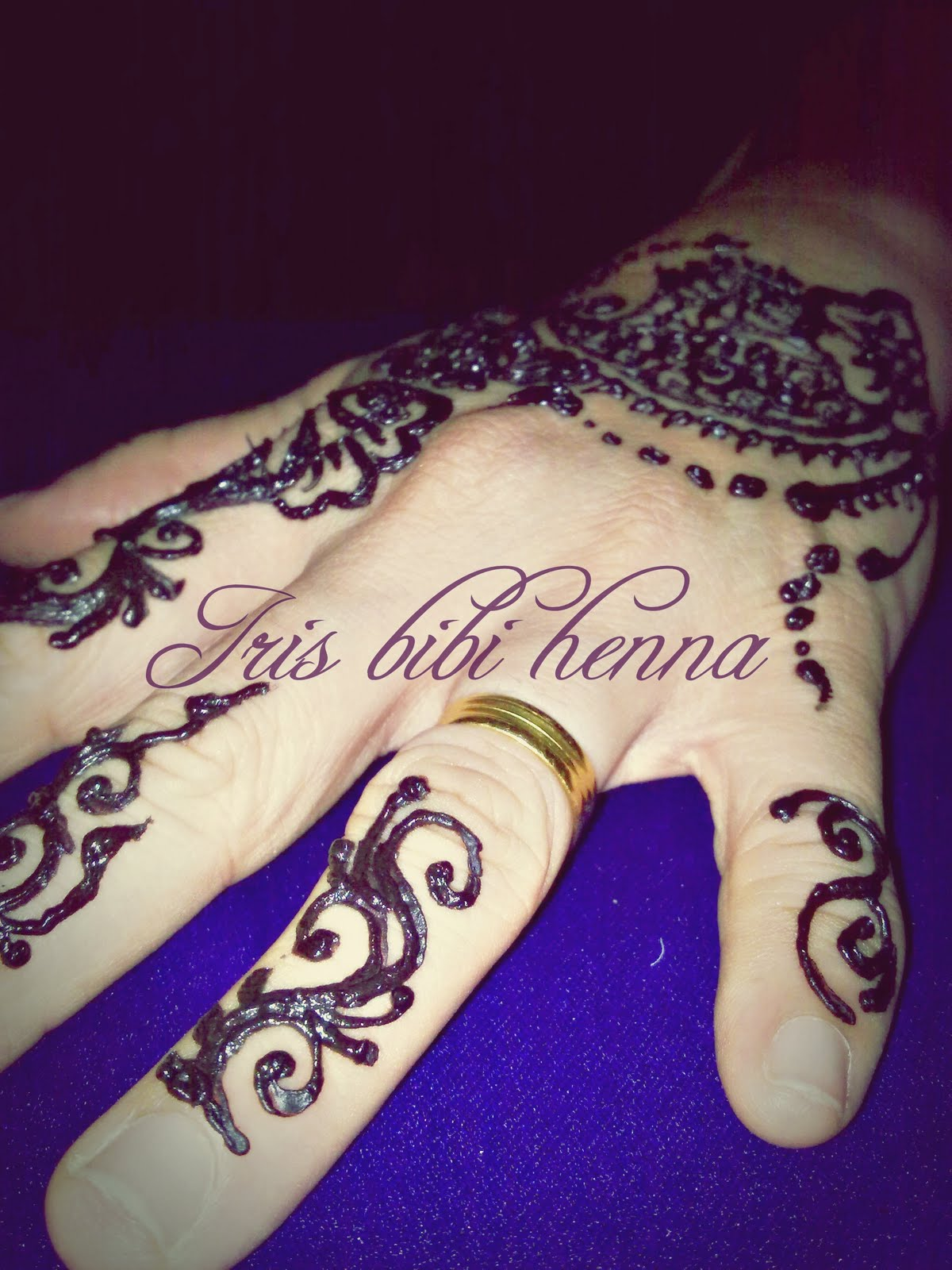 Inai Pengantin Ukiran Henna Dan Make Up January 2012