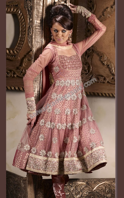 Best Anarkali Salwar Kameez Designs of 2012 from India &amp; Pakistan ~ Part Two