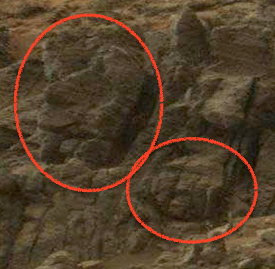 UFO SIGHTINGS DAILY: Nine Faces On Mars In NASA Photo! Feb ...