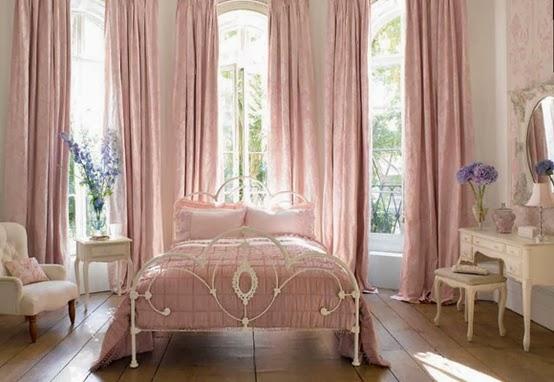 Habitación principal romántica - Dormitorios colores y estilos