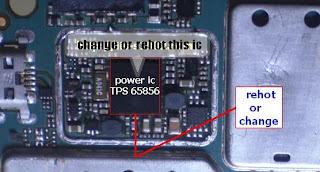 Blackberry Gemini 8520 dead phone