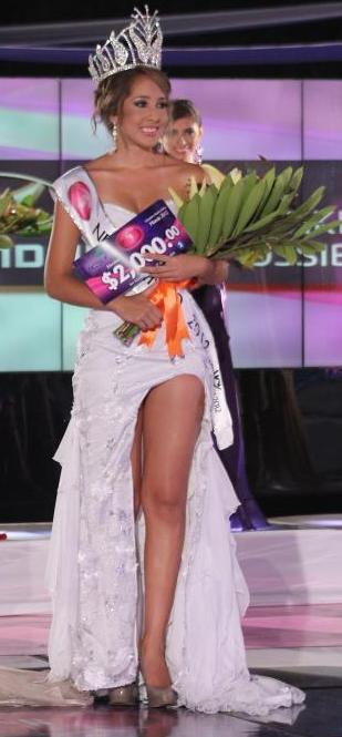 Miss Nuestra Belleza El Salvador World Mundo 2012 Maria Luisa Vicuña
