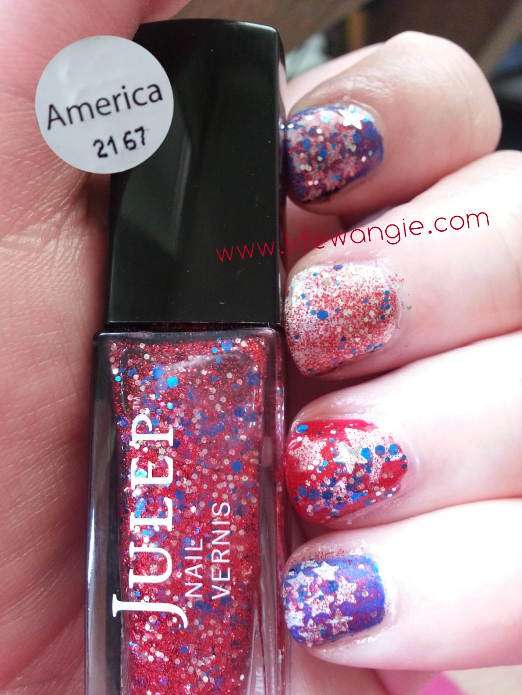 Patriotic Memorial Day Manicure