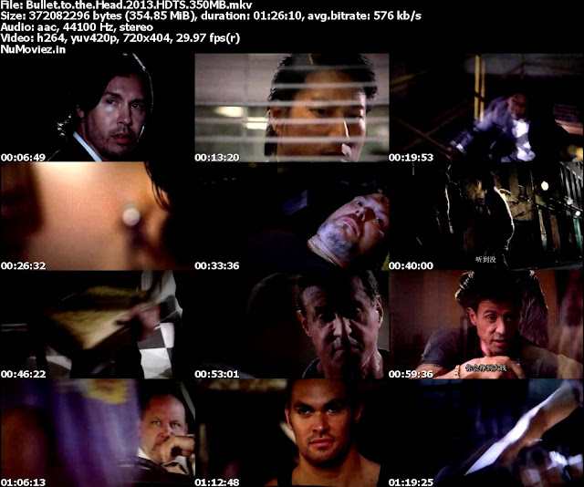 Bullet To The Head (2013) HDTS 350MB