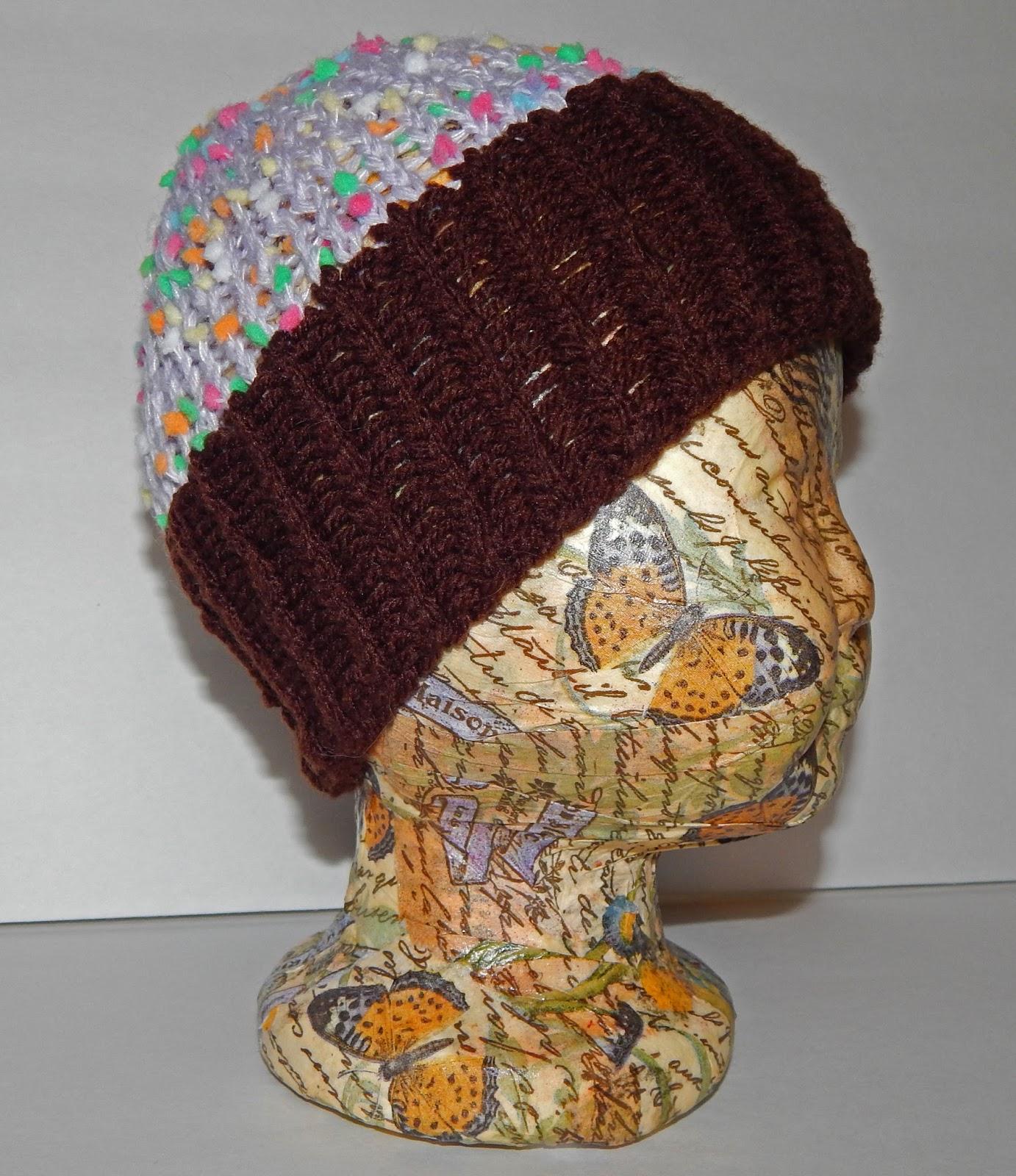 Jovial Knits: Loom Knit Baby Cupcake Hat
