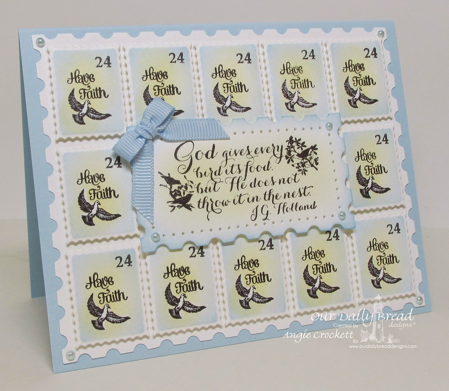 Our Daily Bread designs Admit One, ODBD Custom Mini Tags Dies, Quote Collection 2, Card Designer Angie Crockett