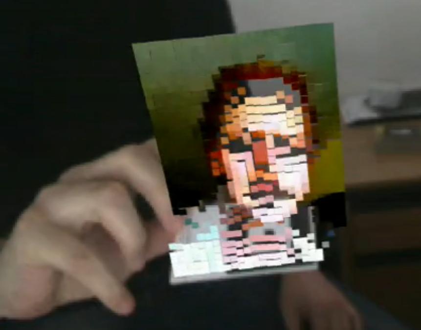 Just press P: Augmented Print