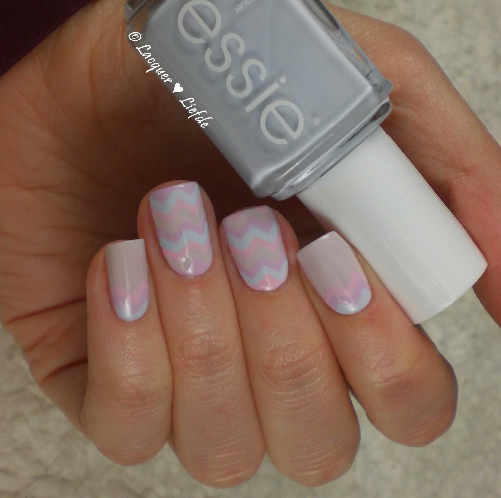 Essie Pastel Oster Nagel Design