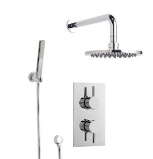 Shower Valve, head and diverter