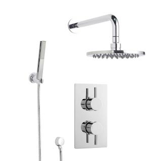 Shower Valve, head and diverter