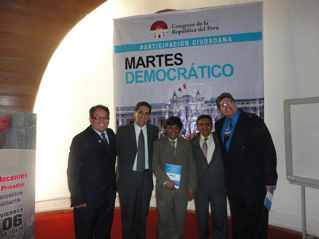 I CONGRESO DE DOCENTES PREUIVERSITARIOS Y DE COLEGIOS PRIVADOS DEL PERU