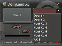 Inject XL Opera Host dan Axis Unlimited Dolly