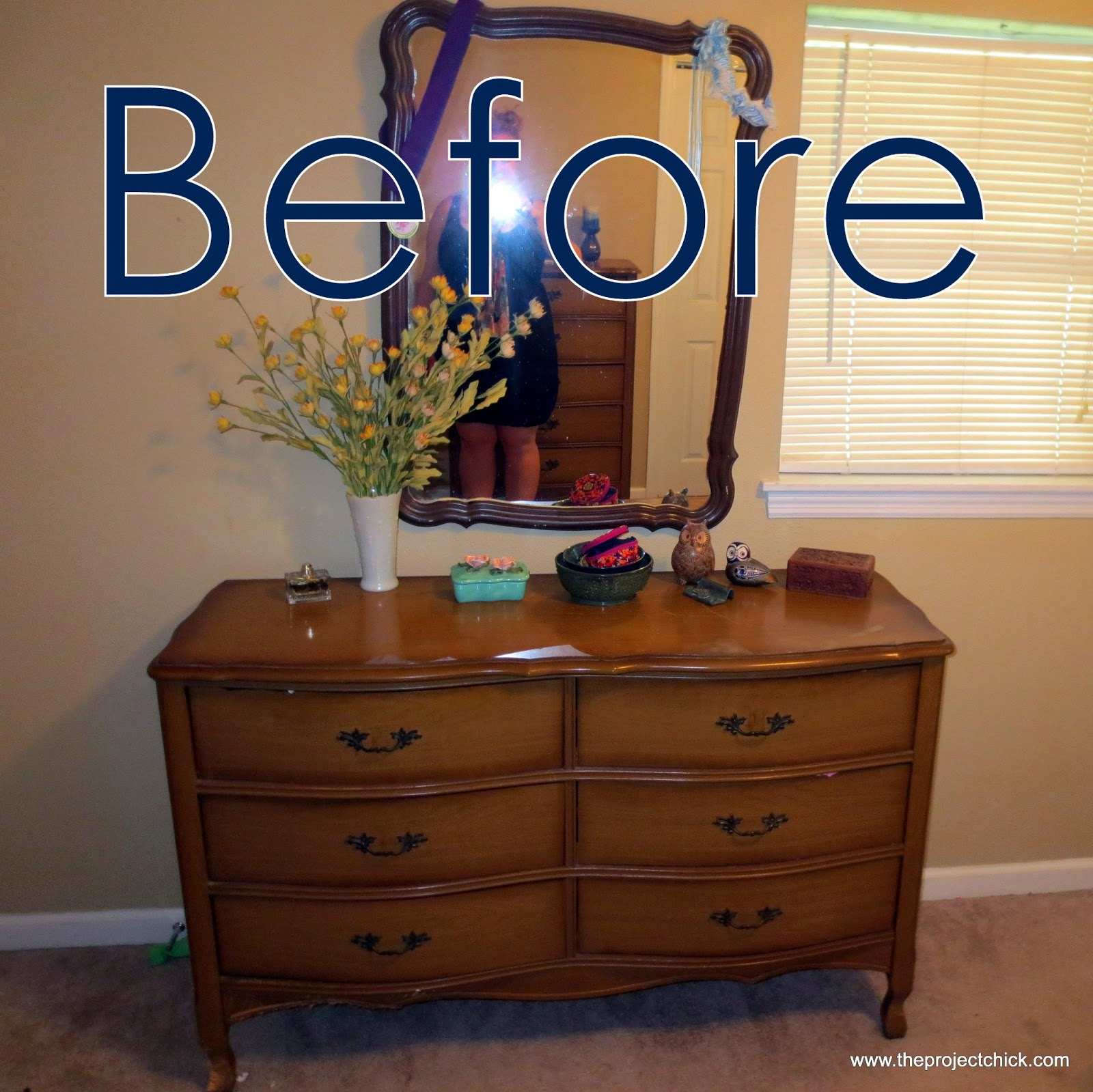 Refinishing Our Bedroom Furniture. The Project Chick  Refinishing Our Bedroom Furniture