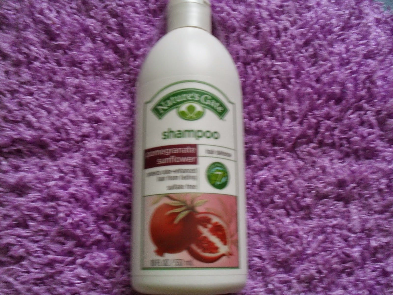 Nature's Gate, Hair Defense Shampoo, Pomegranate Sunflower