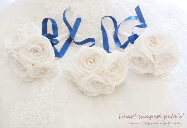 bouquets em tecido
