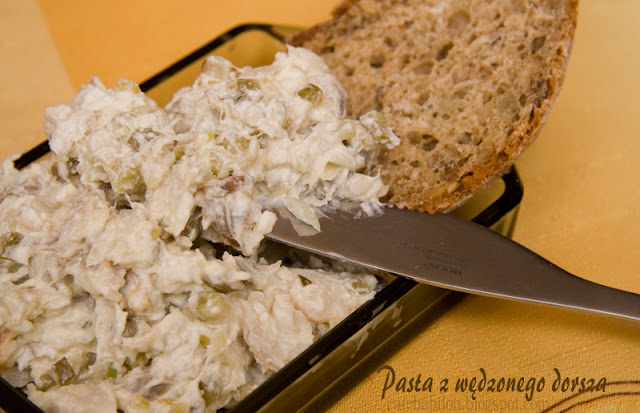 pasta do chleba, dorsz