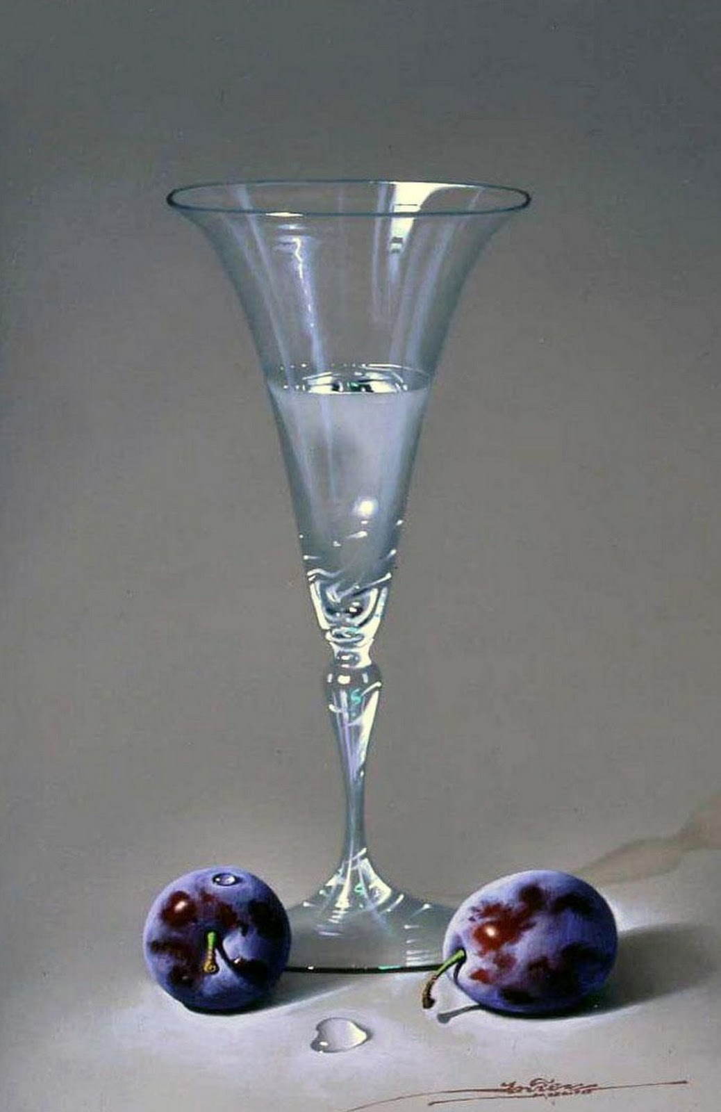 cuadros modernos cuadros de jarrones y copas de cristal