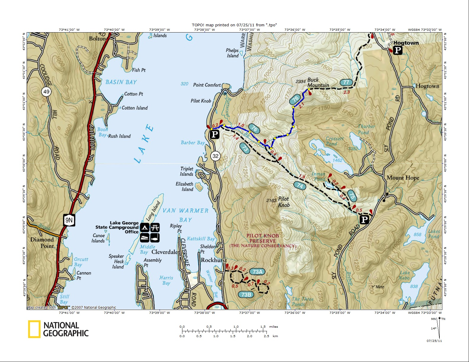 Off on Adventure Buck Mountain Lake George NY 7242011 – Lake George Tourist Map