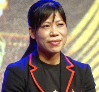 Strong Female Boxer Mary Kom