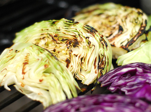 grilled cabbage, NMT grilled cabbage