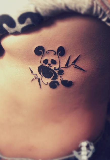 free tattoo designs panda tattoo designs. Black Bedroom Furniture Sets. Home Design Ideas