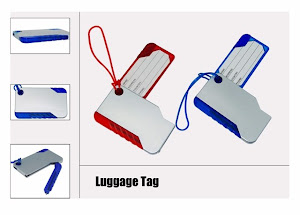 "CENTRUM LINK - ""LUGGAGE TAG WITH BALLPEN"""