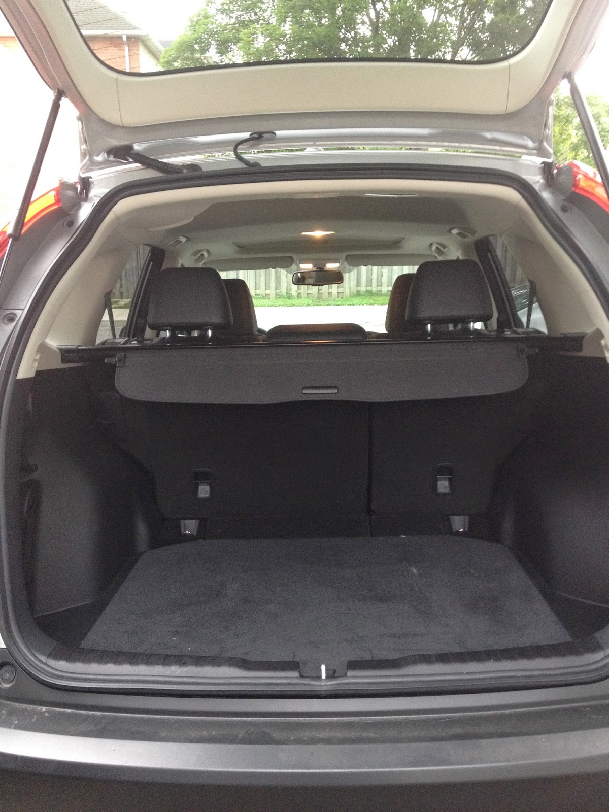 Back Storage of the Honda CR-V