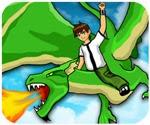 game ben10 dũng sĩ rồng, chơi game ben 10 cực hay tại GameVui.biz