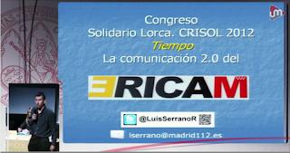 ERICAM. Ponencia de Luis Serrano en Congreso Crisol 2012